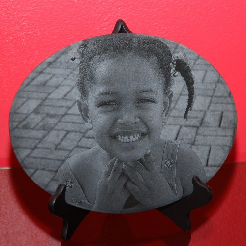 laser etched portrait uk gift heart shape the perfect memorial uk