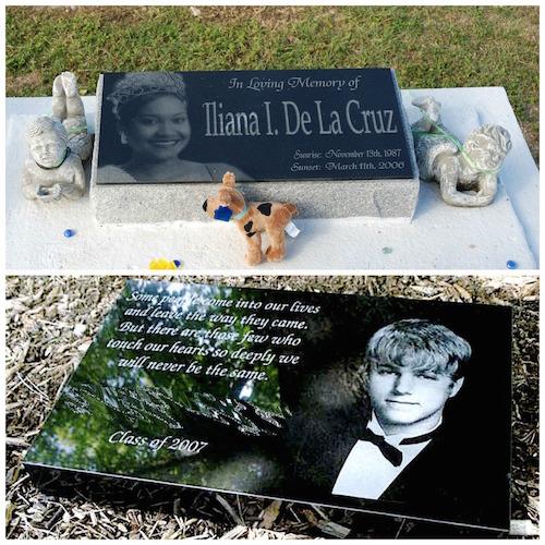 headstones uk memorials laser photos unique kids granite teens