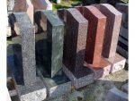 Granite headstone colours, red, green, blue, black, grey, brown