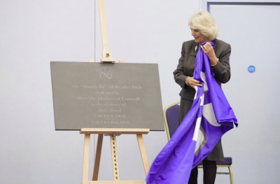 HRH Duchess of Cornwall Unveiling - The Perfect Memorial
