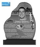 Sophisticated designs created via laser technology - The Perfect Memorial Ltd