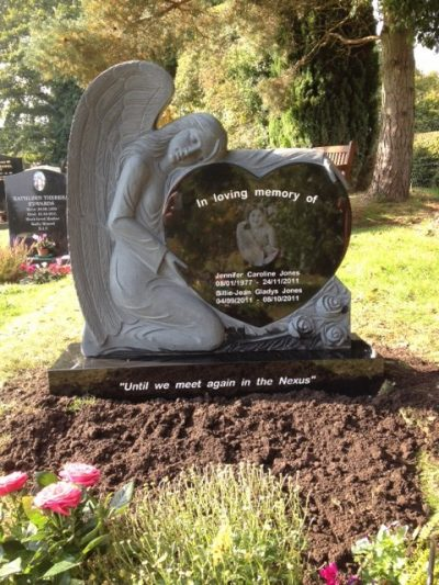 The Perfect Memorial Laser Etched Headstones And More