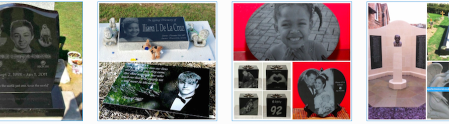 how long laser etch engraved headstone memorial last