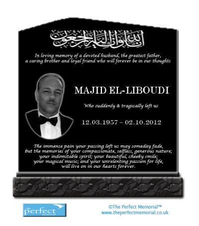 Multi-Ethnic headstone designs UK - The Perfect Memorial