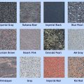 Granite headstone colour options UK