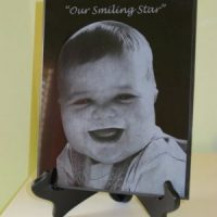 Laser Etched Plaque - The Perfect Memorial Ltd